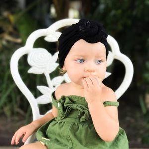 Other - Brand New Black Velvet Baby Girl Knot Turban Hat